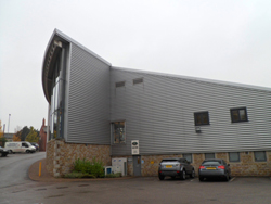 Photo of office cladding